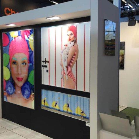 ChromaLuxe-Prints für Kunst-Ausstellungen