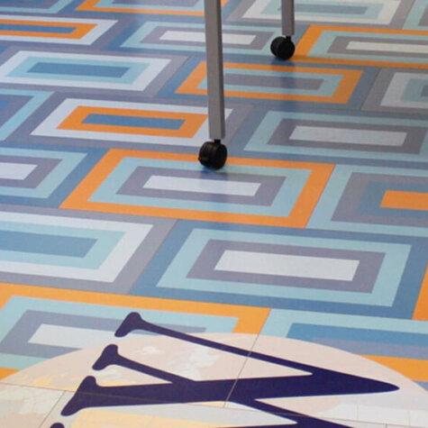 ChromaLuxe Bodenplatten für Messen