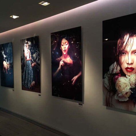 ChromaLuxe Gallery-Prints Kunst-Portraits
