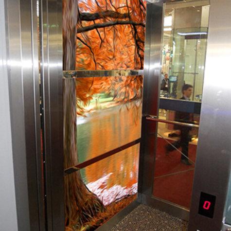 ChromaLuxe im Lift/Aufzug