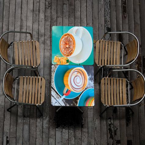 Coffeetables mit ChromaLuxe-Print